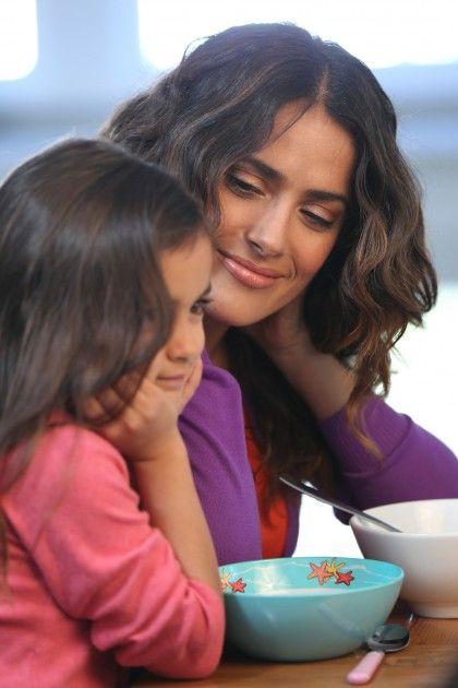 Salma Hayek and daughter Valentina |
