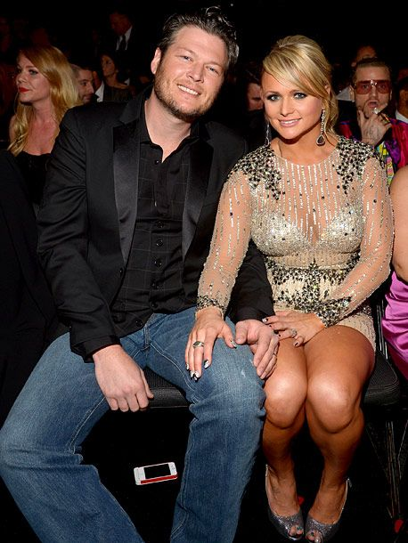 Miranda Lambert and her husband Blake Shelton