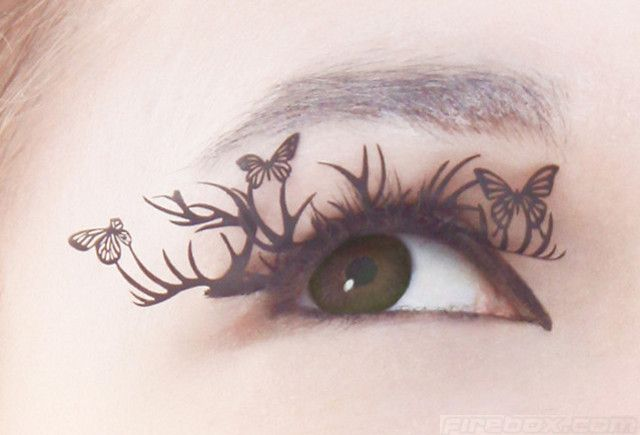 interesting O_oEyelashes Extensions, Butterflies, Bobbin Lace, Makeup, Art, Beautiful, Eyelashes Extened, Cut Paper, Paperself Lashes