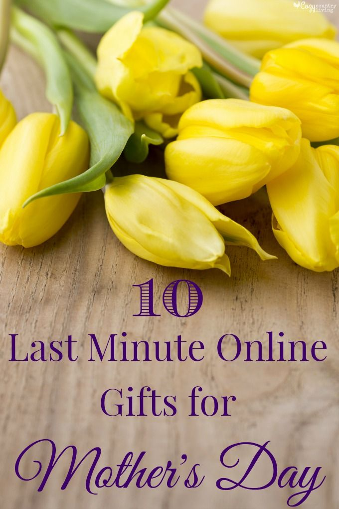 Mother's Day Gifts 10 Last Minute Online Gifts For Mothers Day