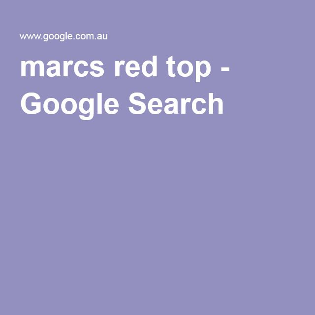 marcs red top - Google Search