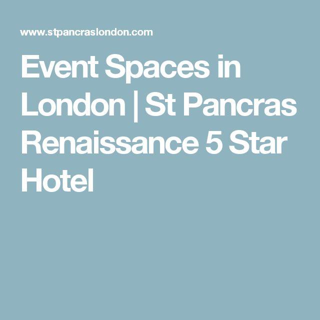 Event Spaces in London | St Pancras Renaissance 5 Star Hotel