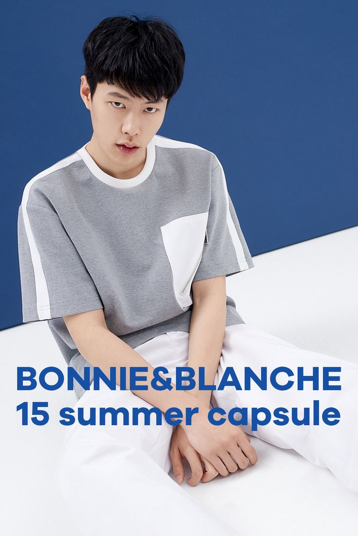 BONNIE&BLANCHE #14SS #SUMMER #CAPSULE COLLECTION #MENSWEAR www.bonnie-blanche.com