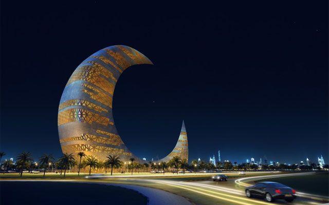 Башня Полумесяц – архитектурный проект, строительство которого будет осуществлено на территории парка Забил, он является одним из объектов современного Дубая.