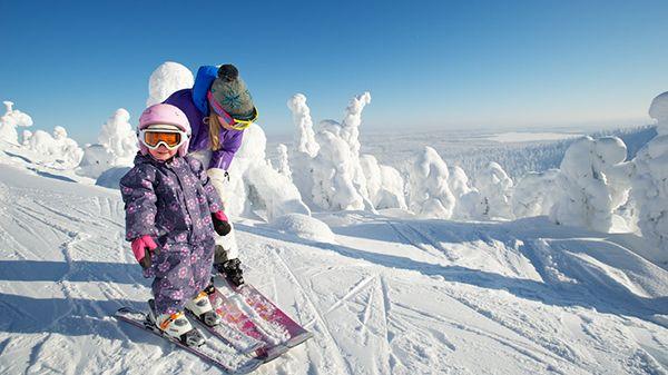 Финский зимний рай для лыжников #Finland #ski