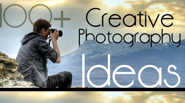 A collection of over 100 creative photography ideas