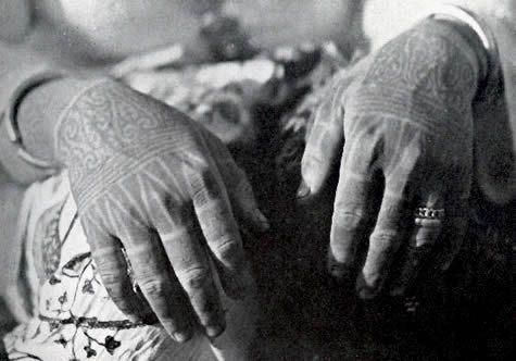 borneo tattoo work