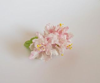 Шелковые цветы ручной работы Дарьи Тороповой