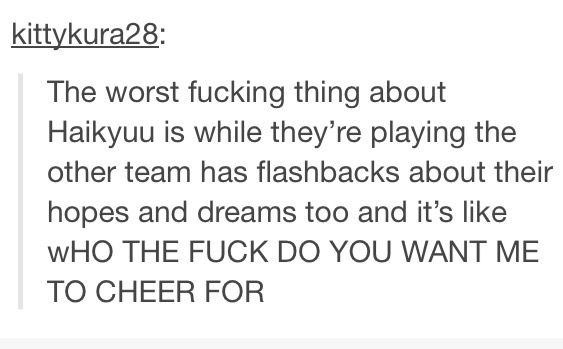 Cries bc of how accurate it is