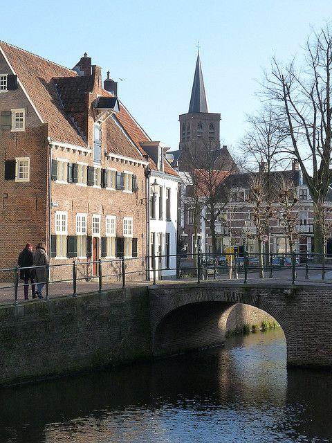 Canal Scene, Amersfoort, Netherlands