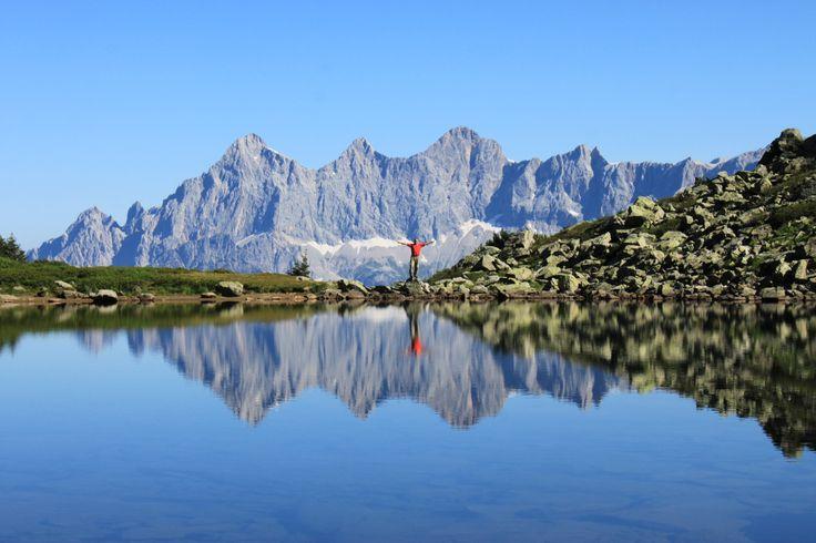 Der atemberaubende Spiegelsee in Schladming-Dachstein