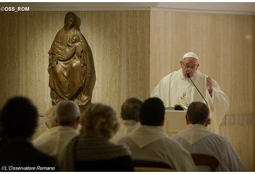 """Francis' attacks Faithful Catholics: """"It is the sin of so many Christians who cling to what has always been done""""  Francis continues to push his modernist agenda which promotes change that abandons the unchanging truths of the faith. For decades the modernist heretics have attacked faithful Catholics as """"resisting cha Francis' attacks Faithful Catholics: """"It is the sin of so many Christians who cling to"""