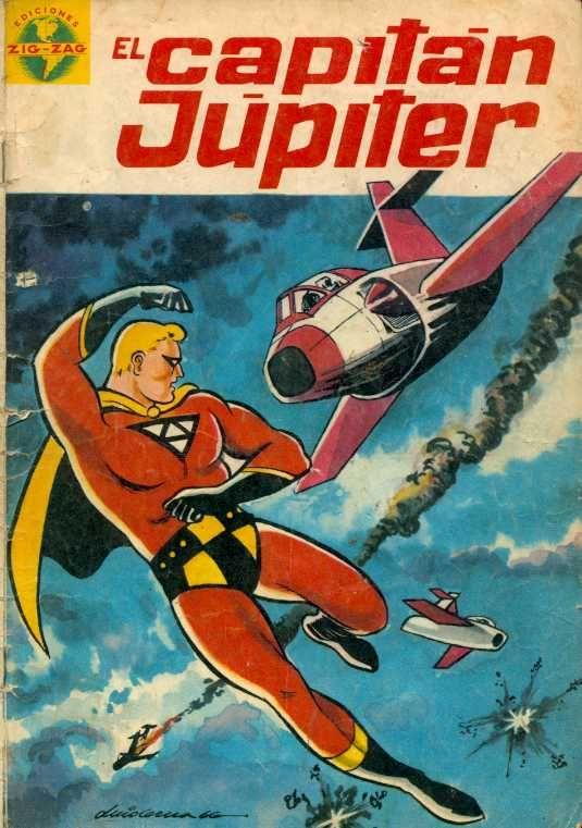 Capitán Júpiter # 1, junio de 1966 (Comic Chile)
