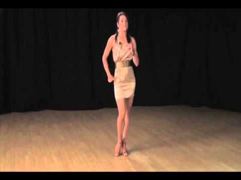 Salsa Basic Styling and Body Motion Lesson for Women (Followers) - Learn How to Dance Salsa - YouTube