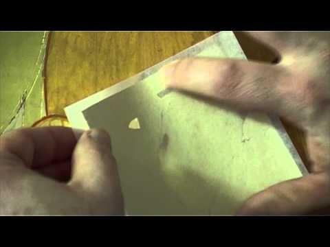 8 2 Aplicaciòn y eliminaciòn del sobrante de la hoja de oro - YouTube