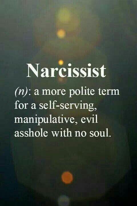 Narcissist - so true! #Muurg #MTGhack