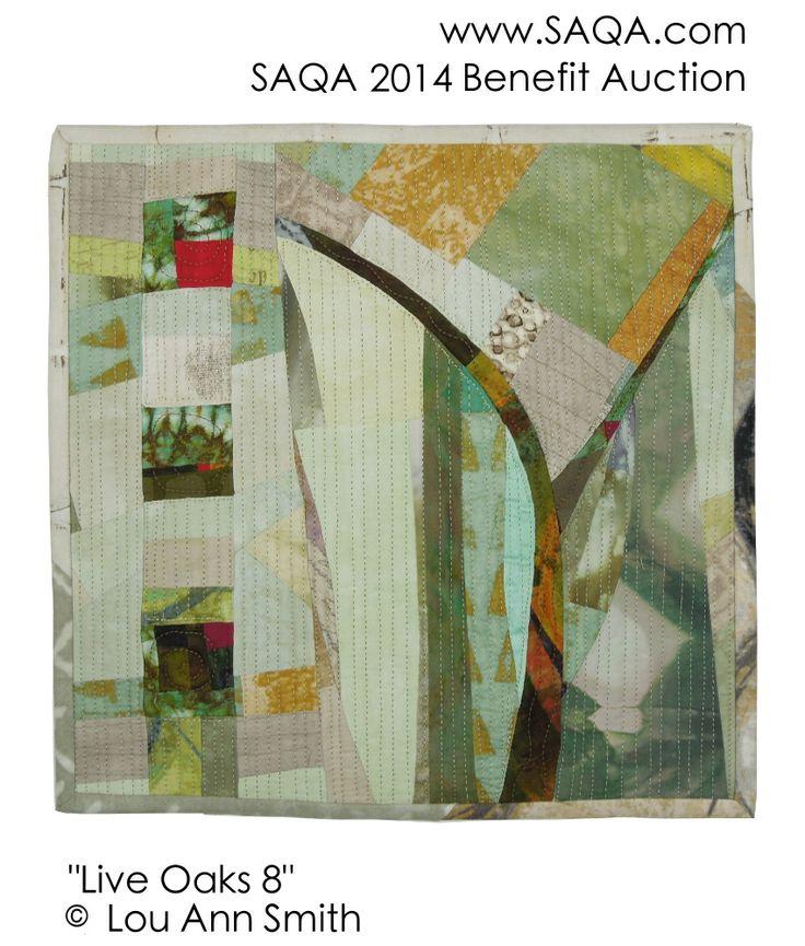 Art quilt by Lou Ann Smith | Art Quilts | Pinterest