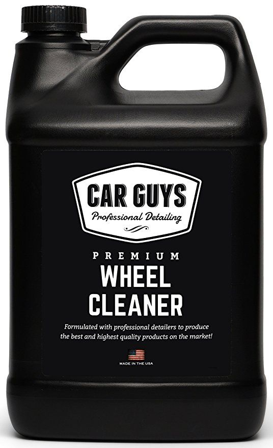 Wheel Cleaner 1 Gallon Bulk Refill - Safe for all Wheels Tires and ...