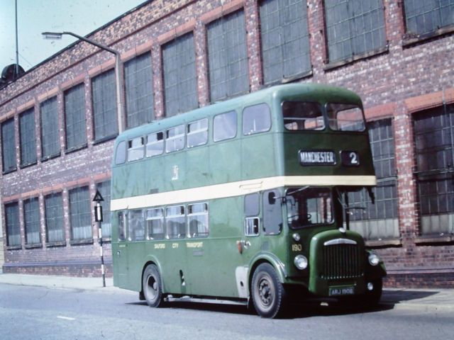 Bus Slide - Salford City Transport 190, Daimler CCG6 | eBay