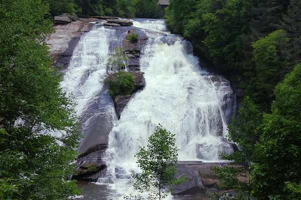 Last of the Mohicans waterfall. DuPont State Forest: Bridal Veil Falls