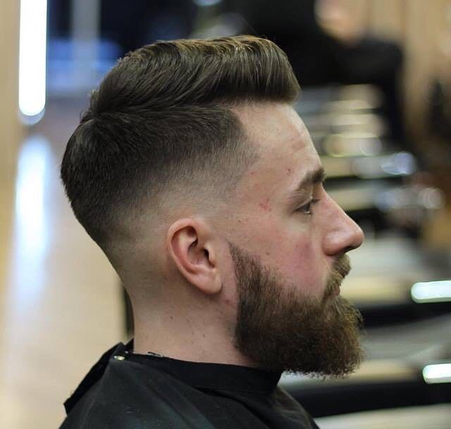 Undercut Low Fade With Side Part