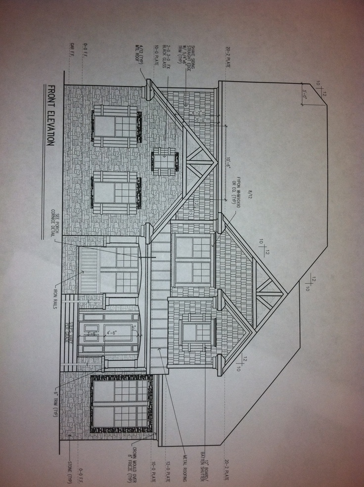 Elevation And Plan In Engineering Drawing : Best images about interior design technical drawings on