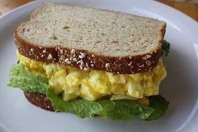 2 ovos cozidos, duros e picados 1 pitadinha de sal  1 pitadinha de pimenta-do-reino  1 colherinha de salsa, picadinha  1 colher(sopa cheia)...