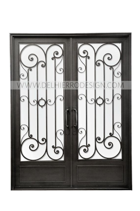 Las 25 mejores ideas sobre portones de hierro forjado en - Puertas de hierro para jardin ...