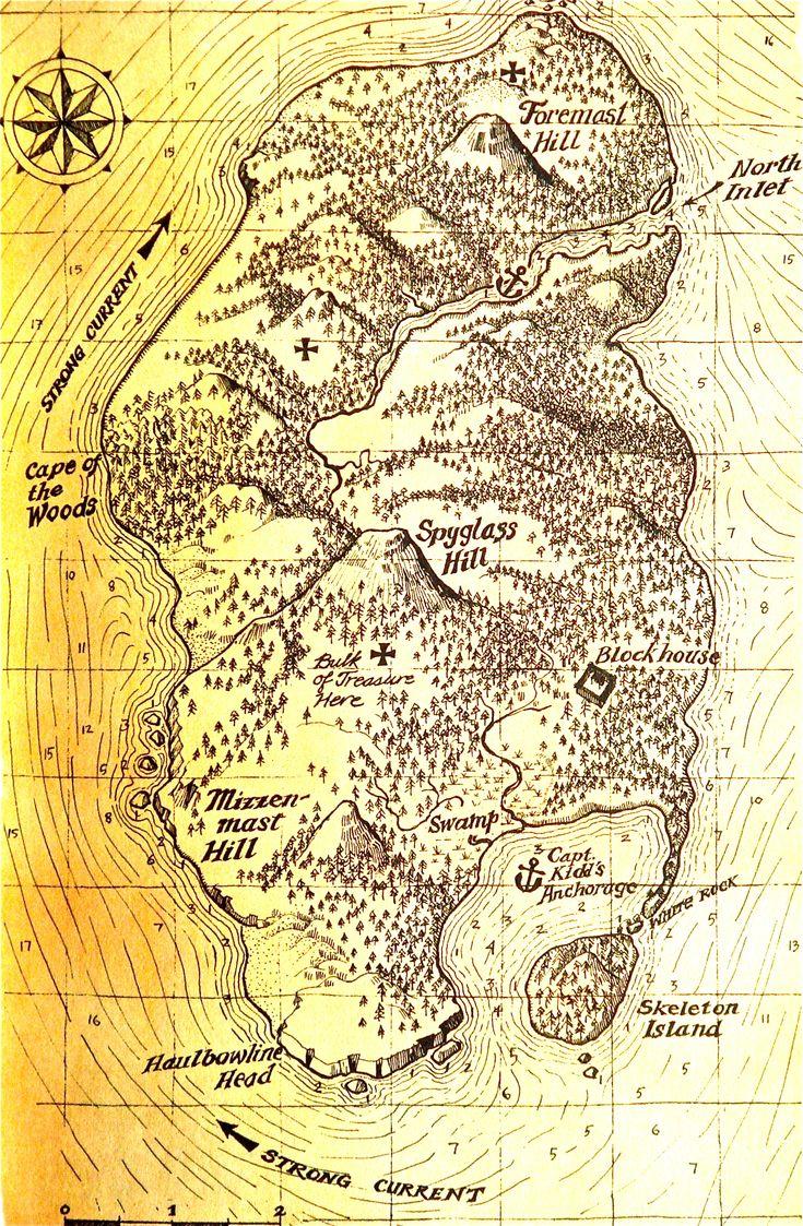 the 25 best treasure island map ideas on pinterest