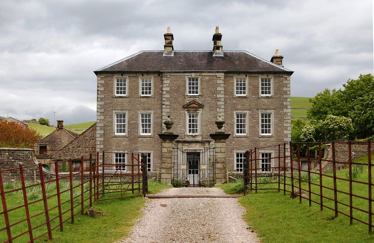 an English country house