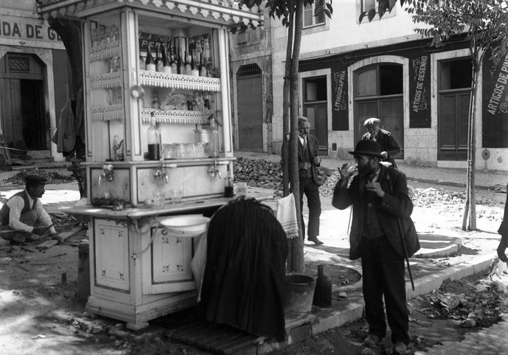 Quiosque do Largo da Boa-Hora - 1908