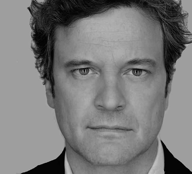 Colin Firth. Once in awhile someone hits the genetic jackpot and gets the perfect face.