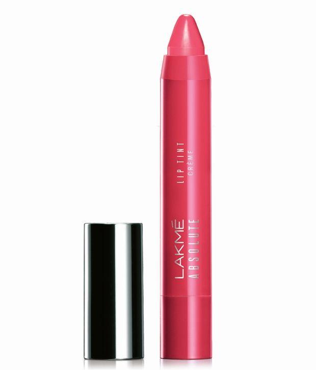 Lakme Absolute Lip Pout Creme Lip Color, Coral Pink - 3 g