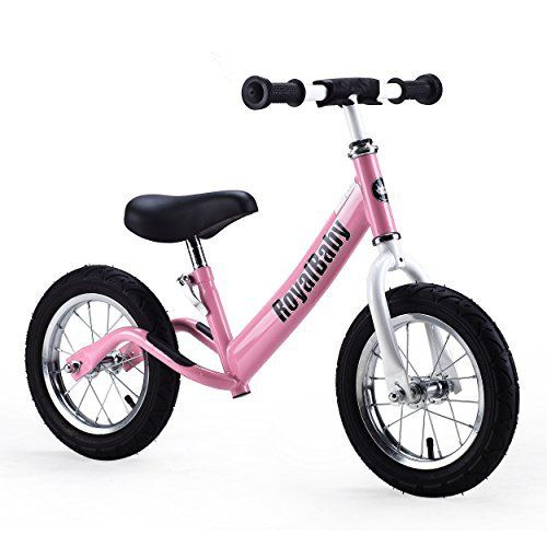 Features ●No pedal, chain, or training wheels, allowing child to master balance and steer a bicycle. ●Needed to ride bike without complicating factor of peddling , easy (basically no) maintenance. ●To teach your kids to ride a pedaled bicycle quickly and safely, try the balance-first, pedal-next ... more details available at https://perfect-gifts.bestselleroutlets.com/gifts-for-babies/kids-bikes-accessories/product-review-for-royalbaby-12-inch-kids-bike-boys-bike-girls-