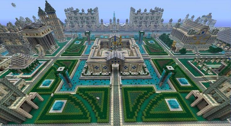 Amazing minecraft city and garden minecraft pinterest gardens amazing minecraft and minecraft - Minecraft garden designs ...