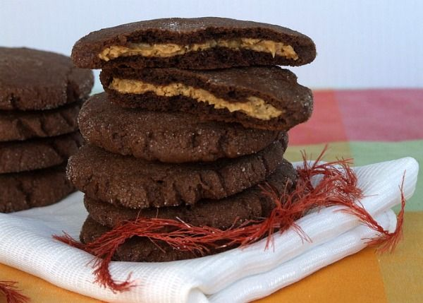 Chocolate Peanut Butter Magic In The Middles Recipes — Dishmaps