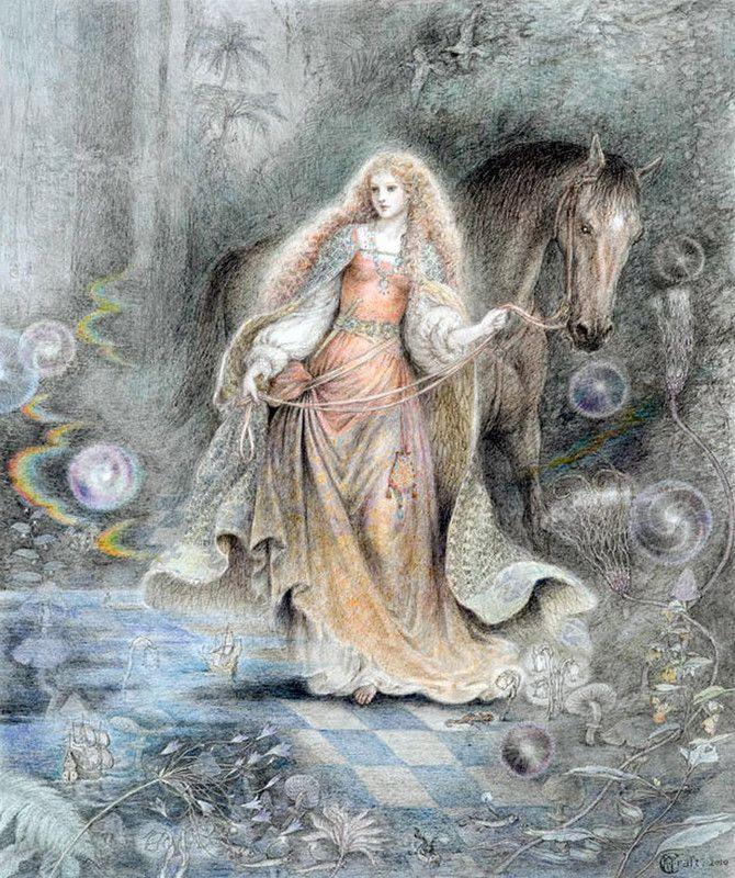 Волшебные миры Кинуко Крафт часть 2