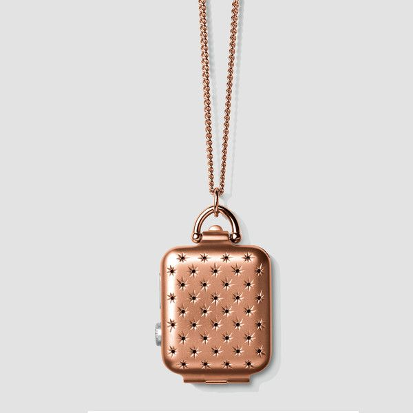 Expensive, but awesome accessory for the Apple Watch... So pretty! (different colors available)  Rose Gold Constellation Locket