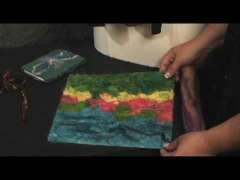▶ Janome-FM-725 Needle Felting Machine - YouTube
