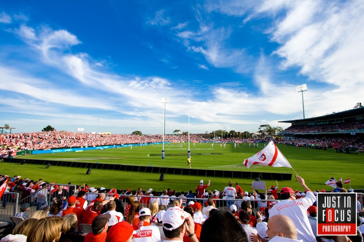 Jubilee Oval, #Kogarah, home of our local #NRL side St George Illawarra Dragons.  #stgeorge