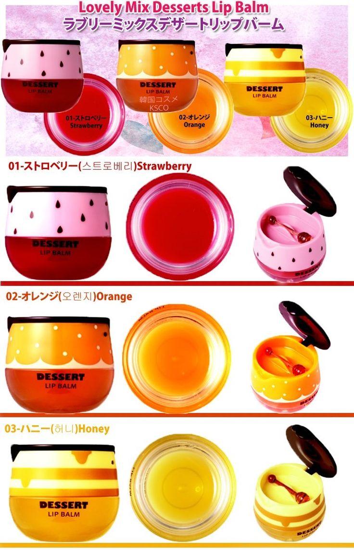 ETUDE HOUSE ~ Desserts Lip Balm