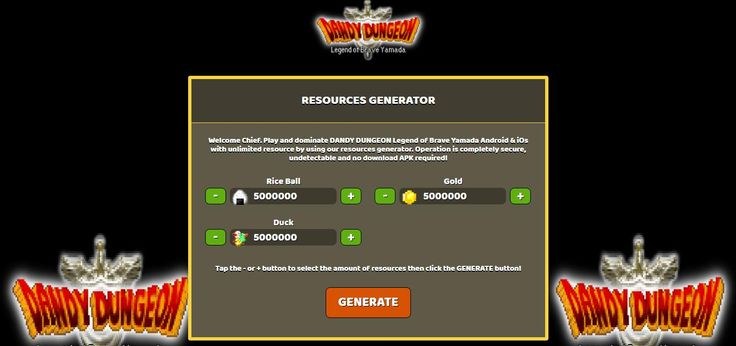 - Unlimited Rice Ball  - Unlimited Gold  - Unlimited Duck  DANDY DUNGEON Legend of Brave Yamada Hack Online:  http://resources-generator.online/dandy-dungeon-legend-of-brave-yamada.html