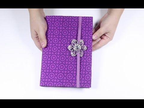 Como fazer Capa para Agenda, Caderno ou Bíblia - YouTube