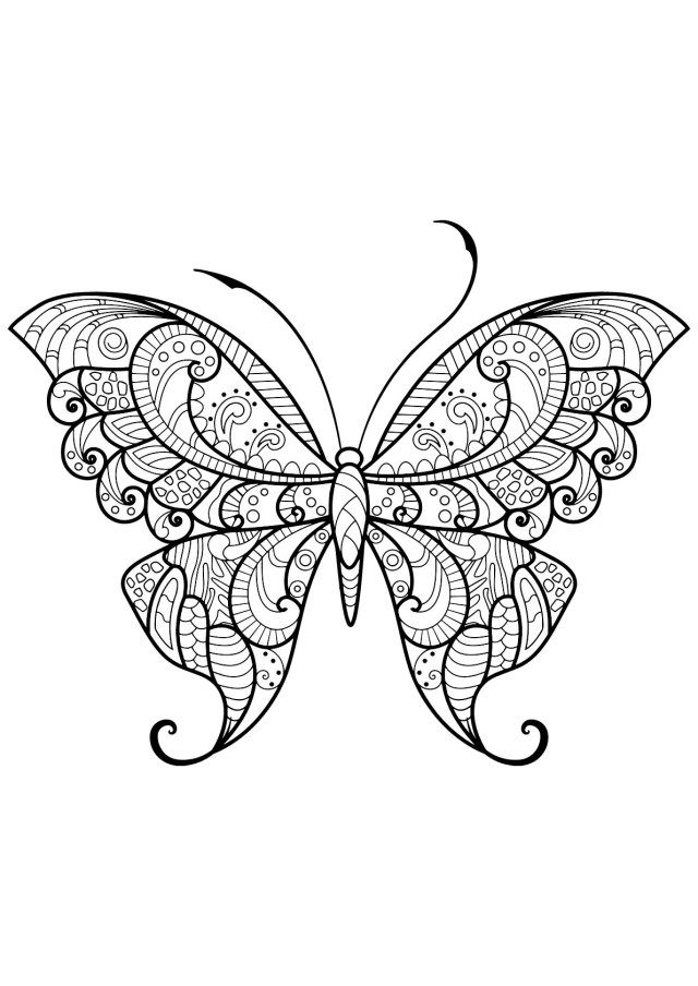 27 Exclusive Photo Of Free Butterfly Coloring Pages Entitlementtrap Com Butterfly Coloring Page Insect Coloring Pages Mandala Coloring Pages