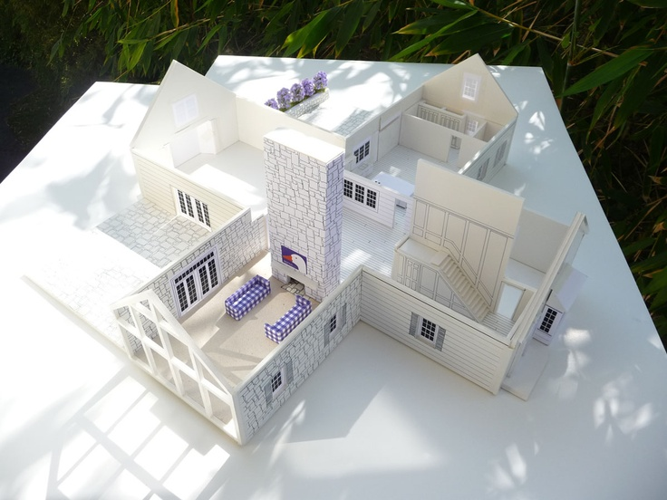 Ground Floor View Of My Dream House. I Want A House That Uses Different  Materials