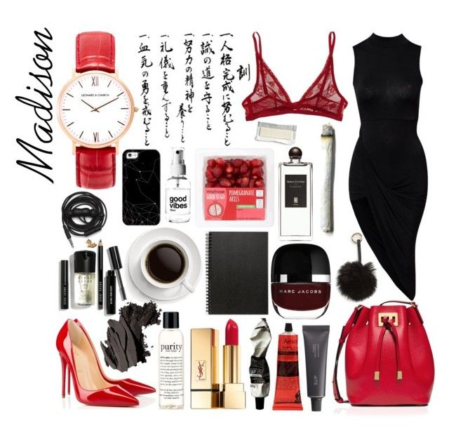 """Untitled #150"" by carolina-clemente on Polyvore featuring Michael Kors, Calvin Klein Underwear, Christian Louboutin, Bite, Aesop, Yves Saint Laurent, philosophy, Bobbi Brown Cosmetics, Muji and Casetify"
