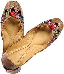 Экзотическая индийская обувь | Индийский интернет магазин
