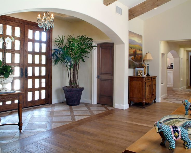 Wood-To-Tile-Transition-for-Entry-Traditional-with-double-entry-doors.jpg (990×792)