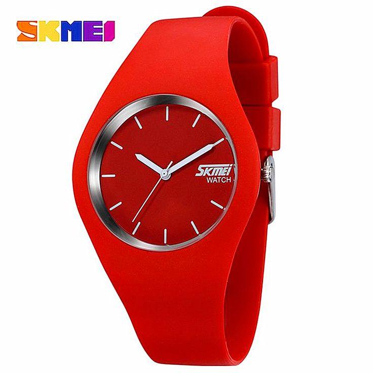 Купить товарЖенские часы SKMEI марка роскошные Мода Повседневная кварцевые…