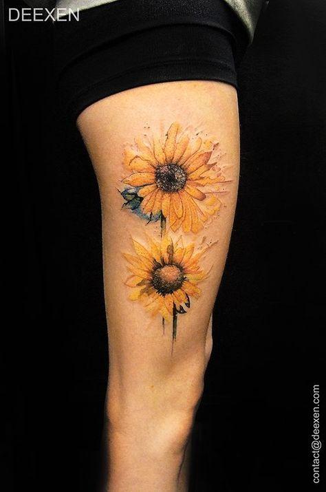 best 25 sunflower sleeve ideas on
